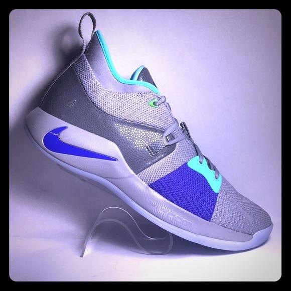 dffd083e0c Nike Shoes | New Pg 2 Paul George Pure Platinum Neo Turq | Poshmark
